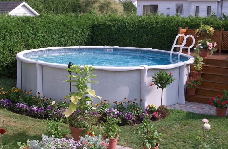 40 uniquely awesome above ground pools with decks - Beautiful above ground pools ...