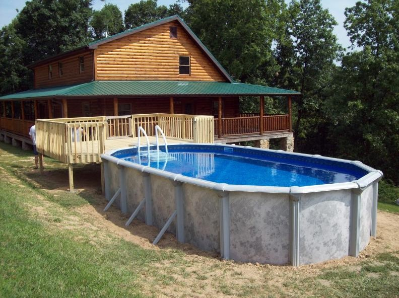 Above ground pool installation cost and how to install Above ground pool installation ideas