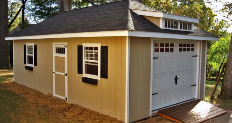 Want to build a garage with living quarters read these for Prefab double garage