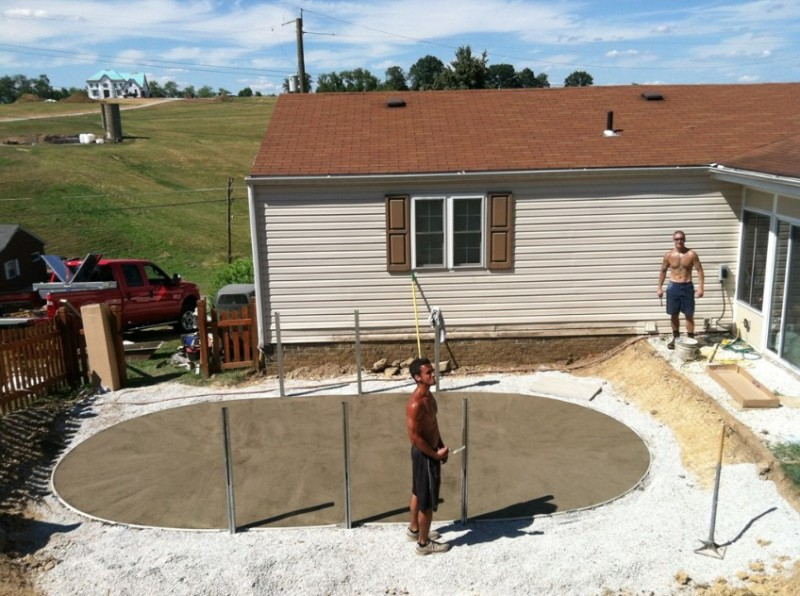 Instal above ground pool 12x24 oval step by step