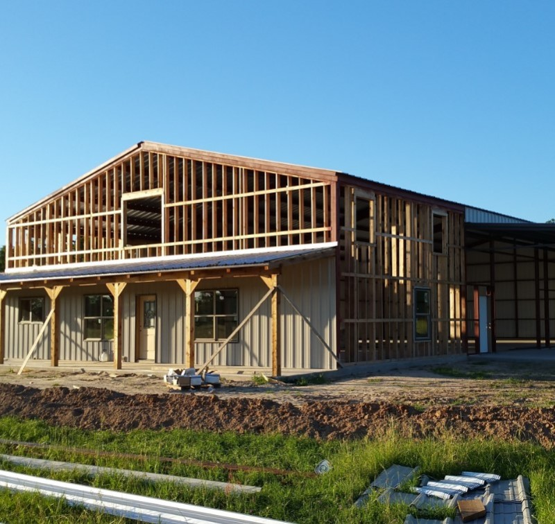 Barndominium cost references in texas for Building a house in texas