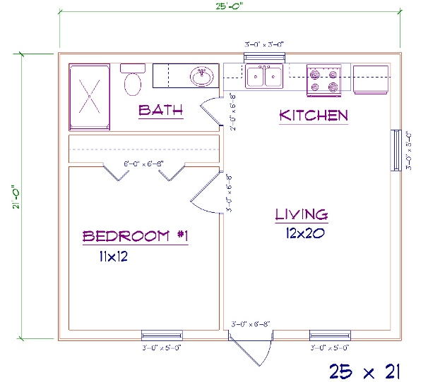 14 X 30 Cabin Floor Plans 14 Best Home And House