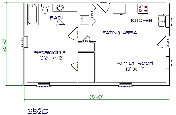30 barndominium floor plans for different purpose for 50 x 80 apartment plans