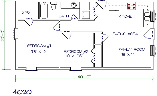 30 barndominium floor plans for different purpose for 20 x 40 shed plans