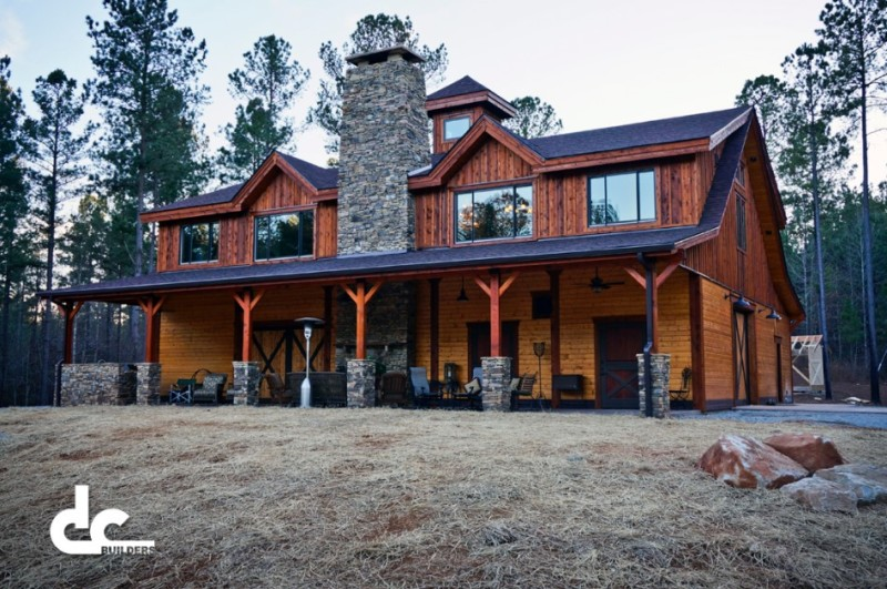 Top 6 most popular barndominium and metal builders in texas for Cabin builder texas