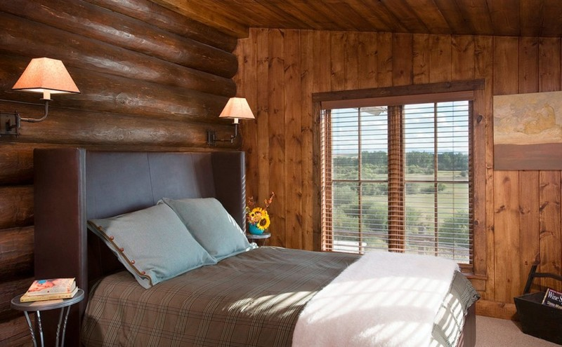 Rustic barndominium bedroom design ideas