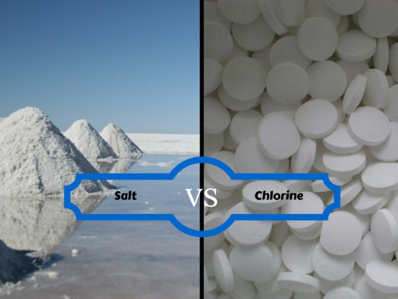 Salt vs Chlorine, How Will You Sanitize Your Pool?