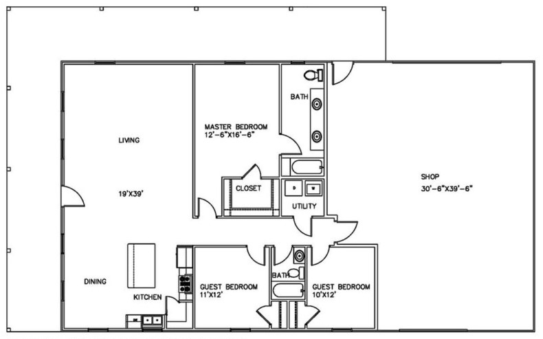 Deck Posts as well Timber Frame Deck Post Construction Detail furthermore Shop With Living Quarters moreover Barndominium Plans in addition 560416747355568326. on attached carport plans