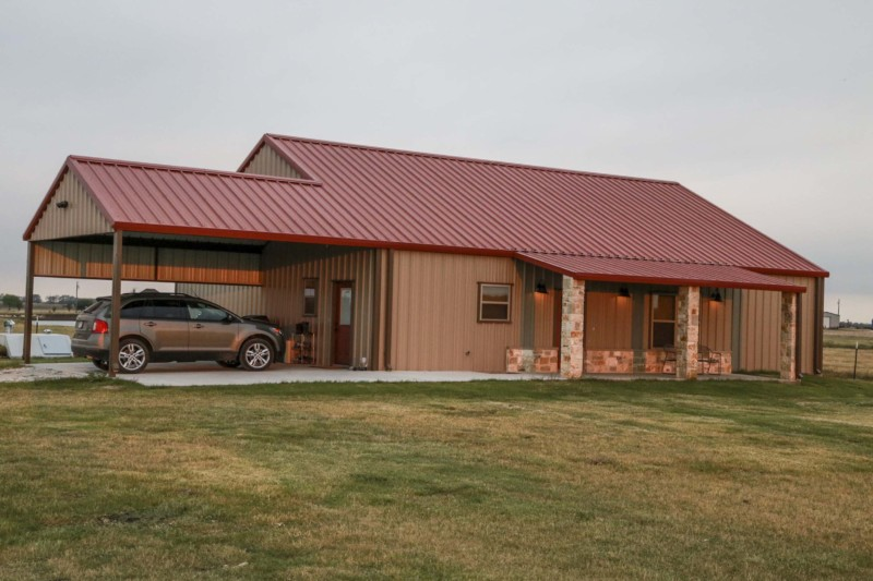 Mueller metal buildings prices reviews and photo gallery for Metal buildings for houses