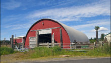 quonset hut barn home
