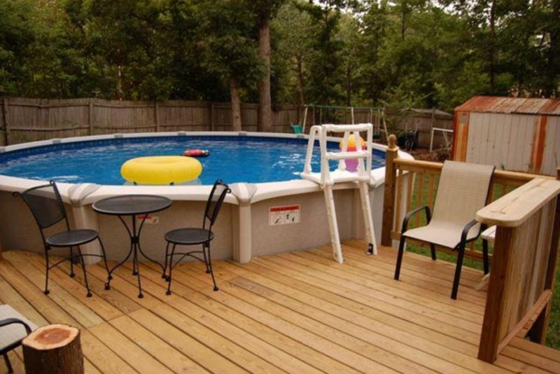 Above Ground Swimming Pool Accessories and Equipment DIY Design