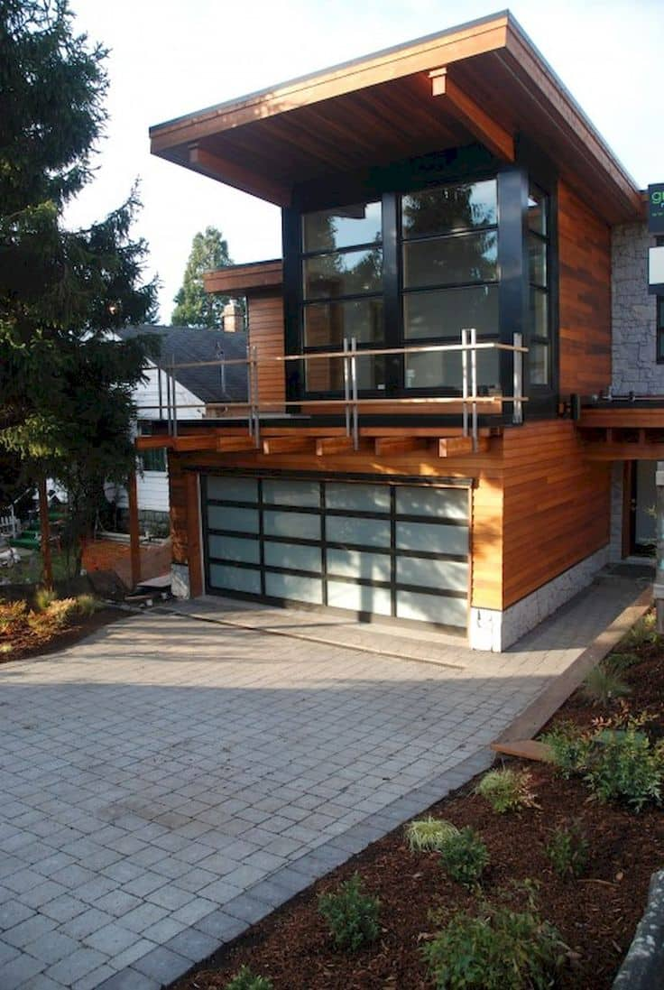 Want to build a garage with living quarters read these for Garage style homes