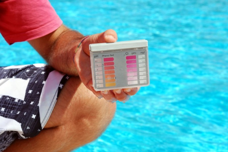 Swimming pool shock pool care and how to shock a pool - Chlorine calculator for swimming pools ...