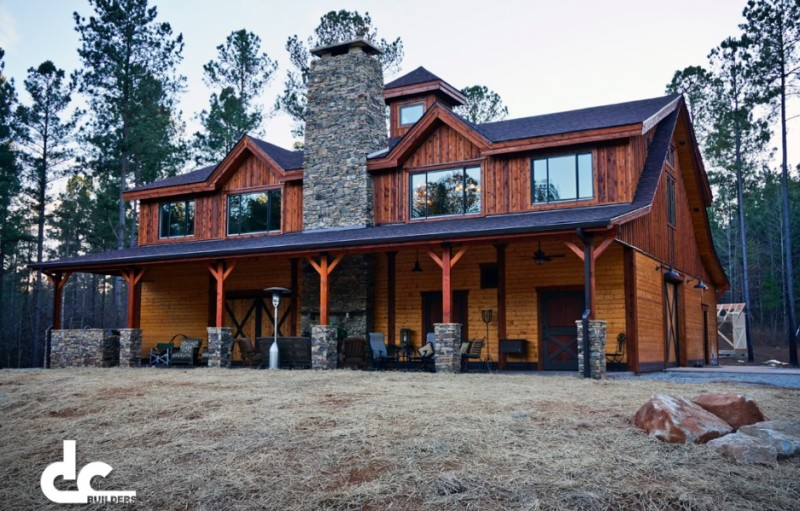 custom barndominium in newnan georgia