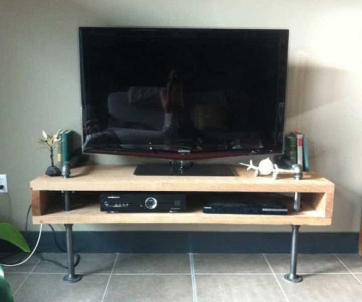 Tv Stand Designs Diy : Creative diy tv stand ideas for your room interior