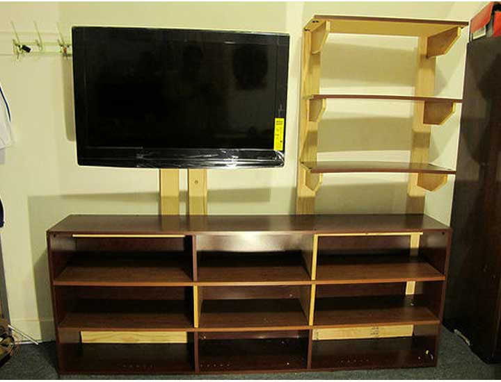 50+ Creative DIY TV Stand Ideas for Your Room Interior - DIY