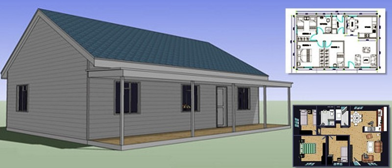 Metal buildings with living quarters everything you need House building plans and prices
