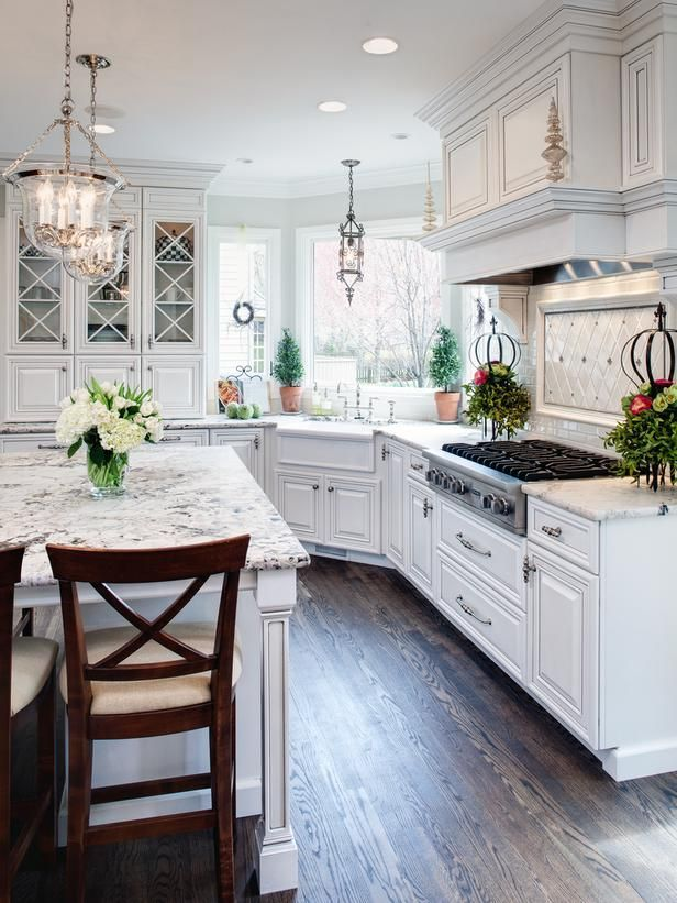 Awesome Beautiful White Kitchen Designs