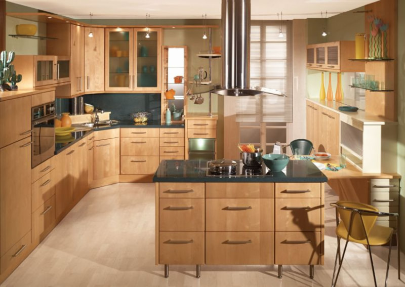 Awesome Small Kitchen Ideas With Chair and Dining Table