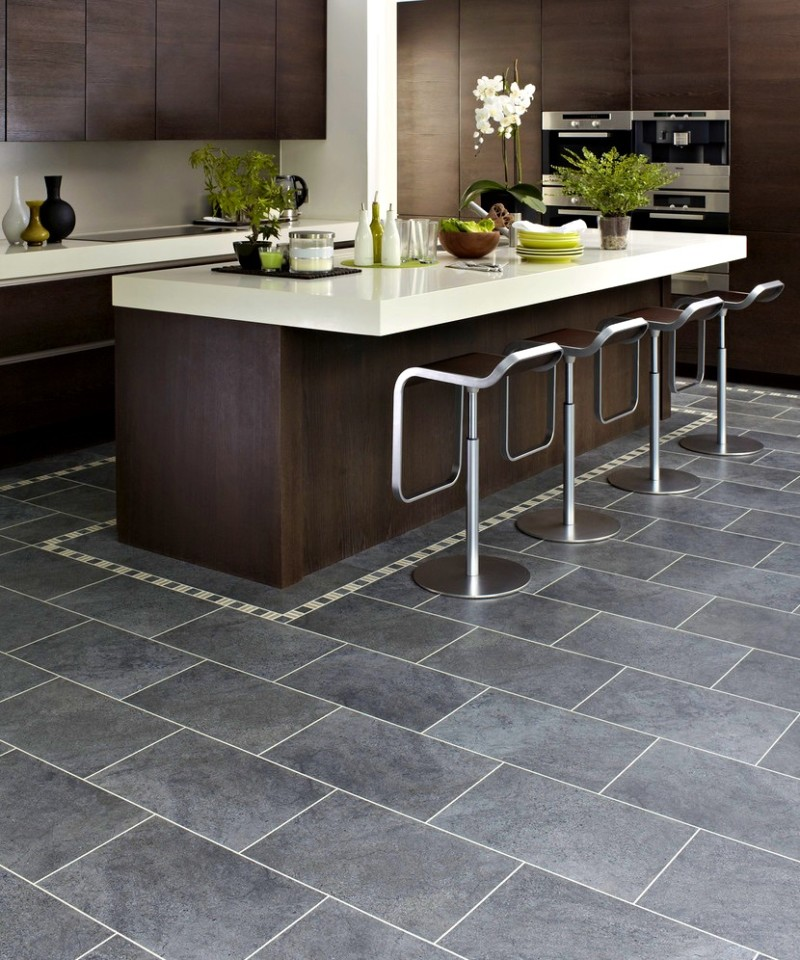 Best 15 Slate Floor Tile Kitchen Ideas Diy Design Amp Decor
