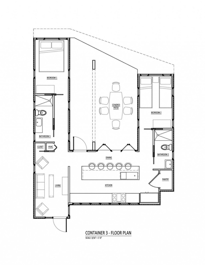 Kitchen Lay Outs With Innovative Floor Plan