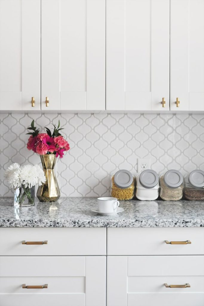 Kitchen backsplash DIY Countertop