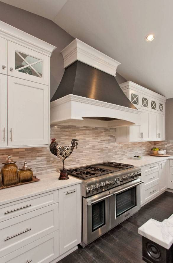 Kitchen tile backsplash ideas for white cabinets