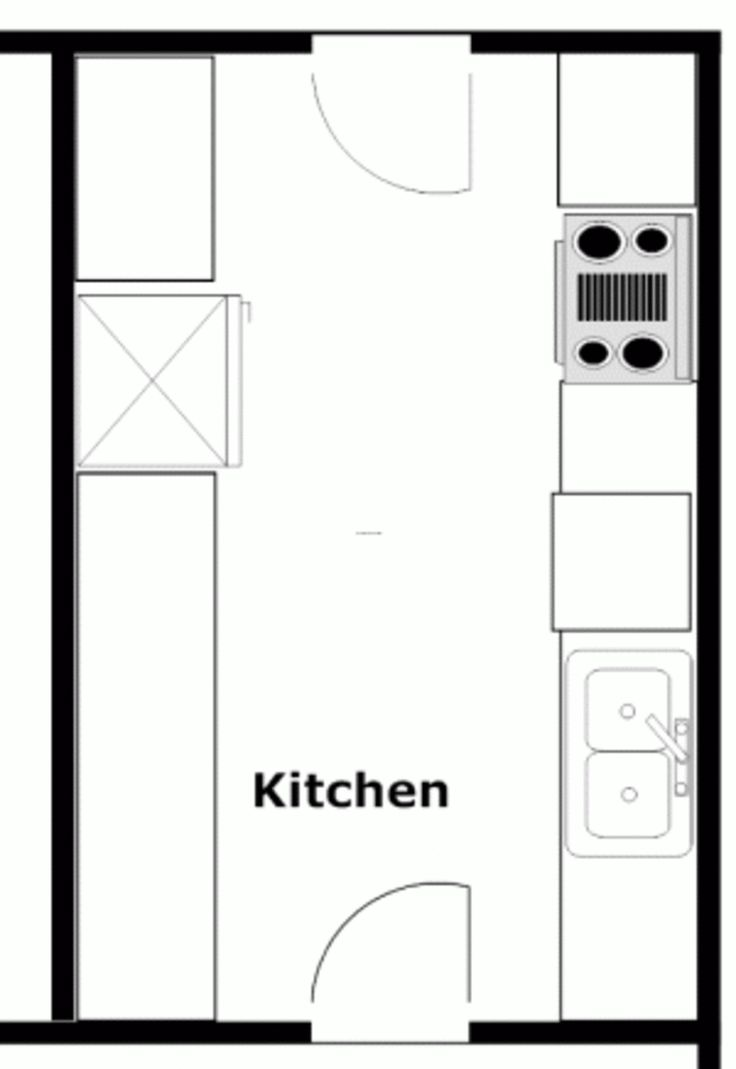 12 popular kitchen layout design ideas diy design decor for House plans with galley kitchen