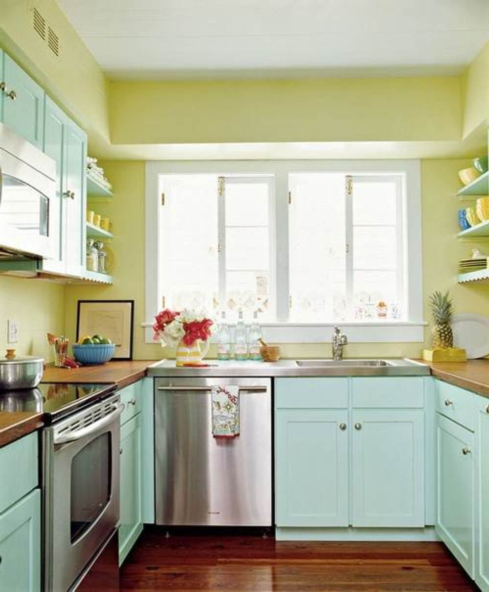 Home Decorating Ideas Kitchen New Decoration Small Colors: 57+ Small Kitchen Ideas That Prove Size Doesn't Matter