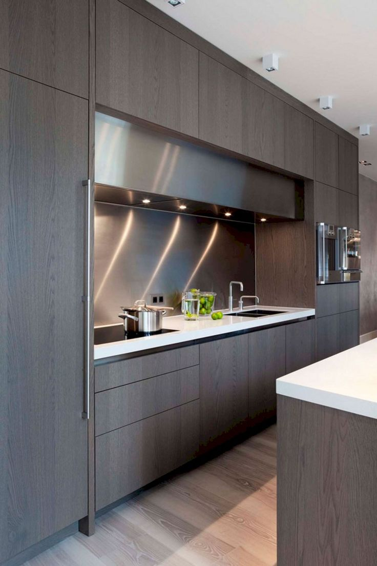Stylish Modern Kitchen Cabinet
