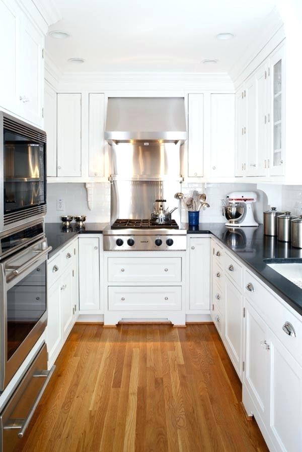 small kitchen ideas and white cabinets