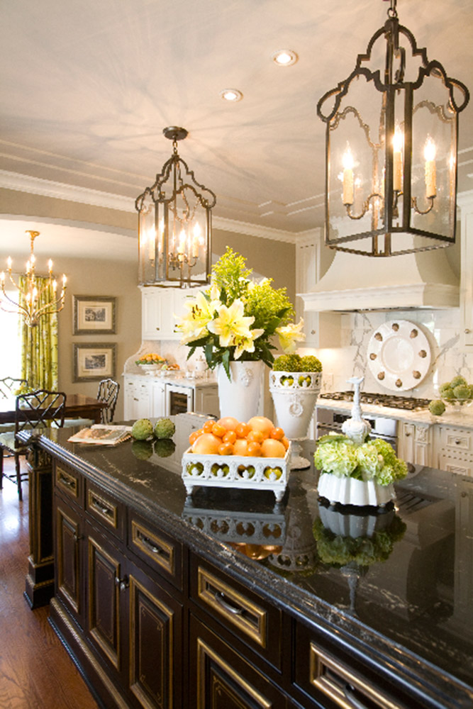 Kitchen Light Fixtures French Country