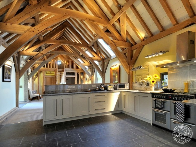 green oak barn home conversion
