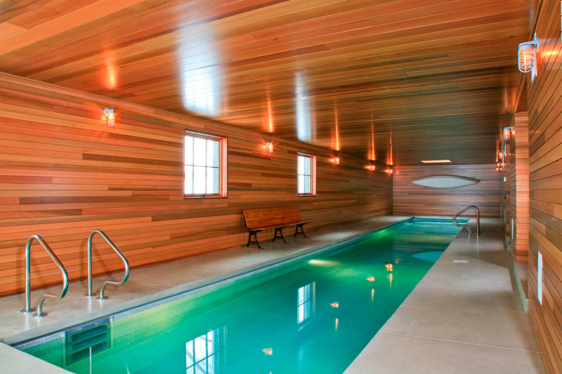 awesome barn home swimming pool