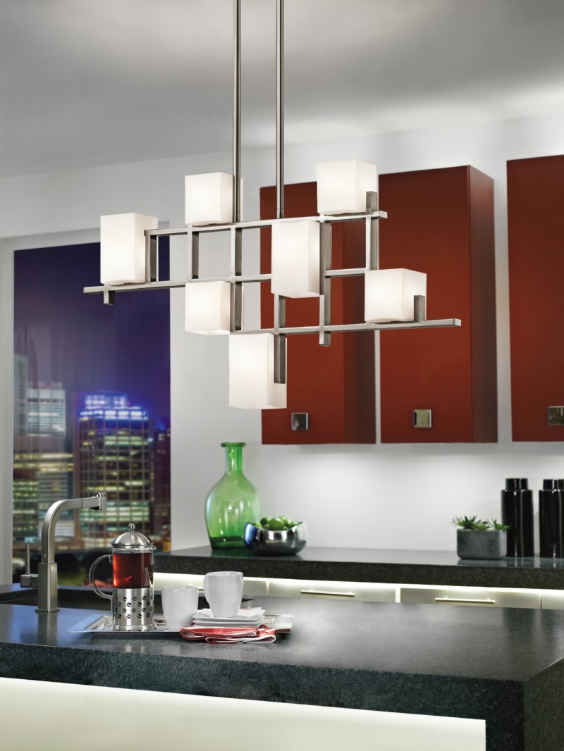 Best 15 modern kitchen lighting ideas diy design decor for Modern island pendant lighting