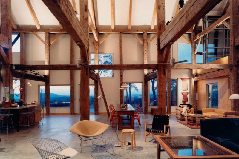 barn house interior design