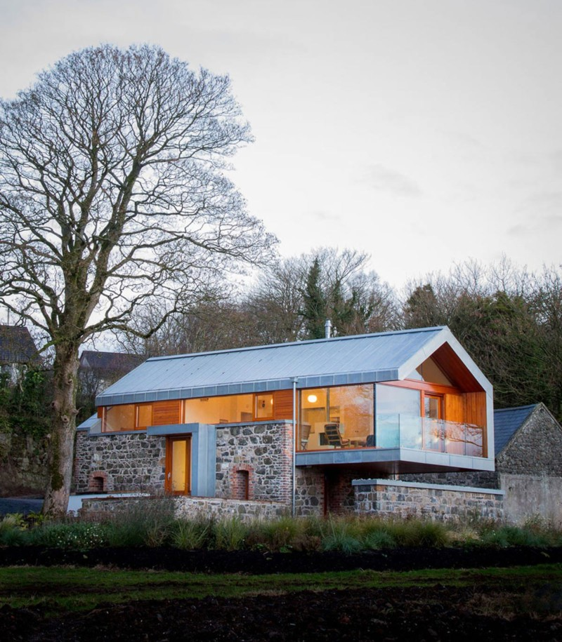cantilevered design in Northern Ireland