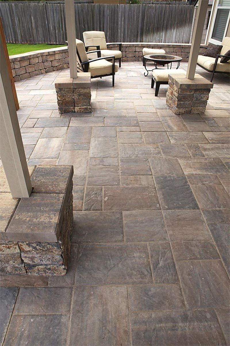 Attractive Stone Paver Patio Ideas