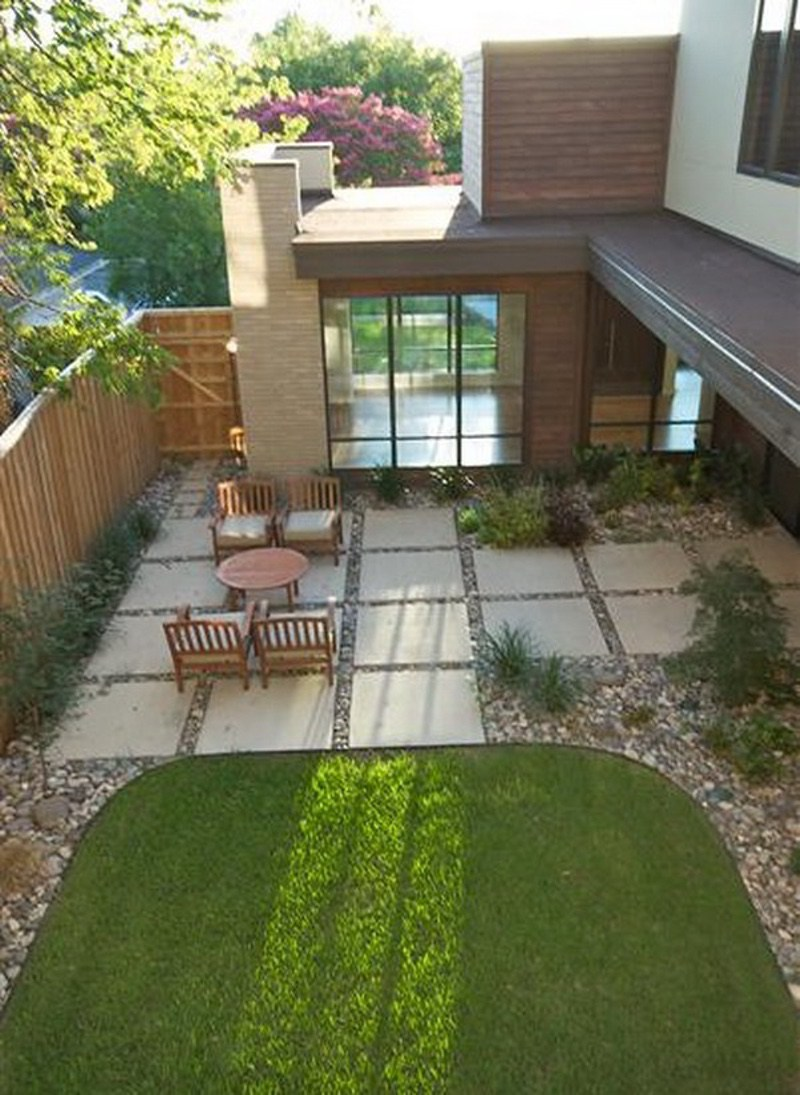 Concrete Paver Patio Designs Backyard
