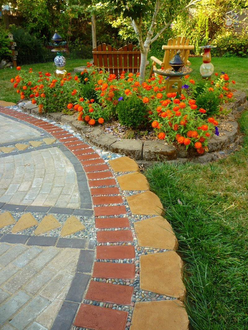 Making A Patio With Stones: 13+ Best Paver Patio Designs Ideas