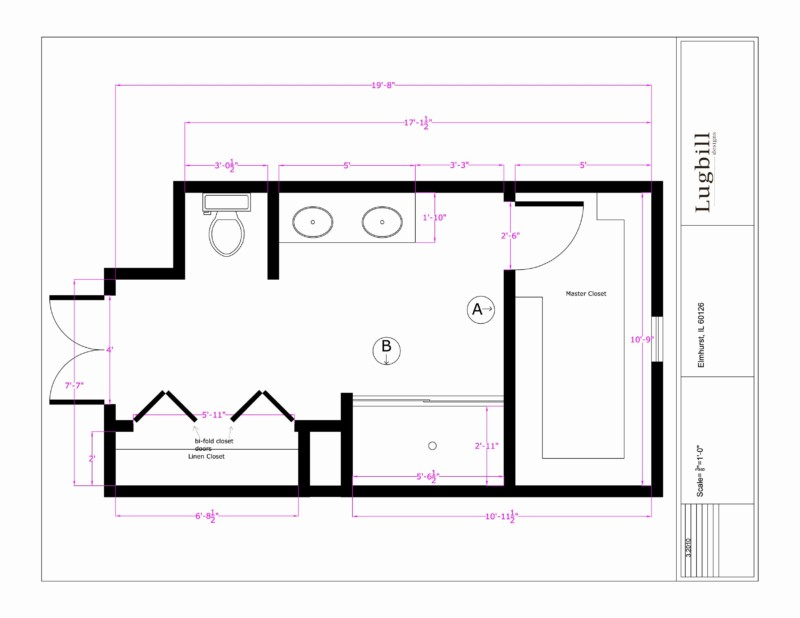 Designing A Bathroom Layout