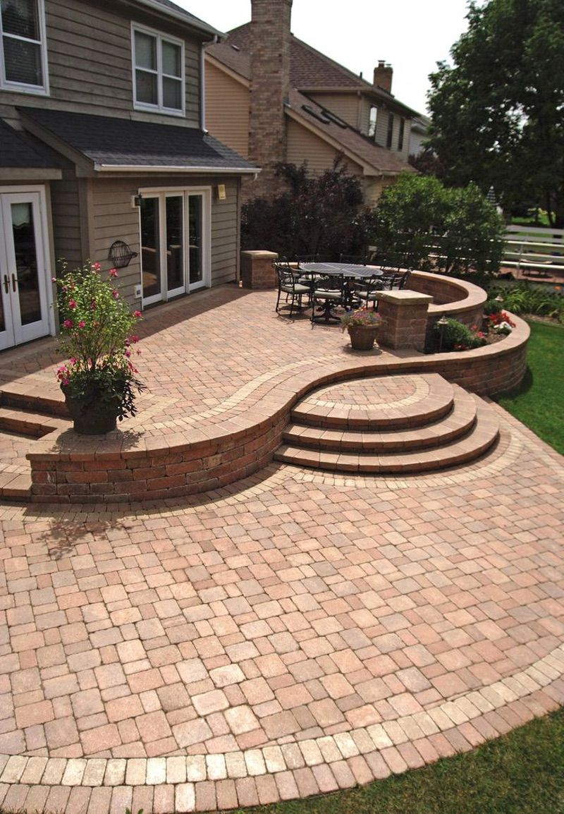 Diy pavers patio, Paving stone patio and Pavers patio