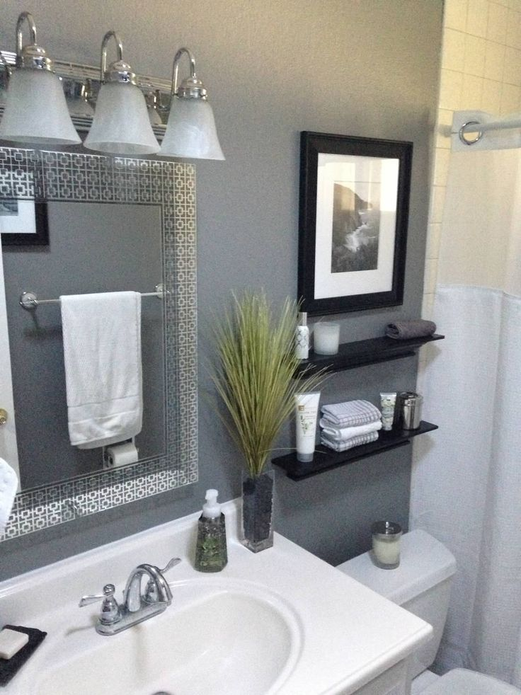 25 beautiful small bathroom ideas diy design decor for Bathroom accents