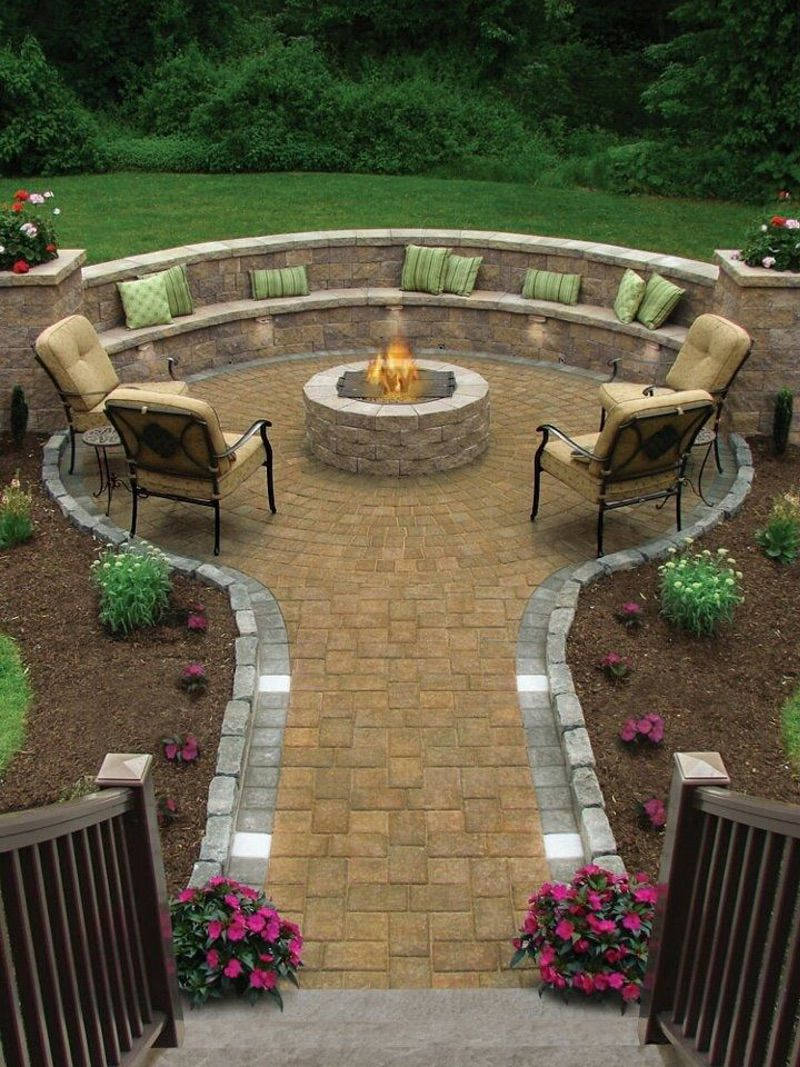 Pavers patio, Outdoor pavers and Backyard pavers