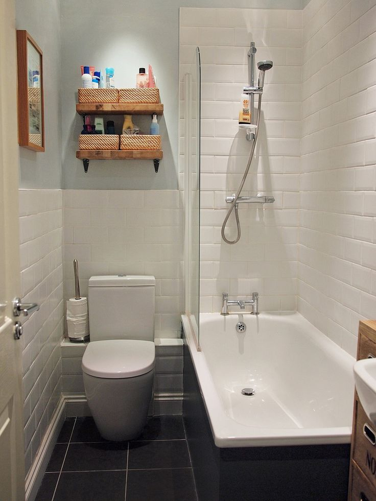 Small bathroom and Tiled bathrooms