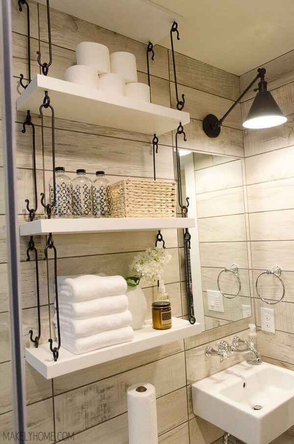 Unique Storage Ideas for a Small Bathroom to Make Yours Bigger