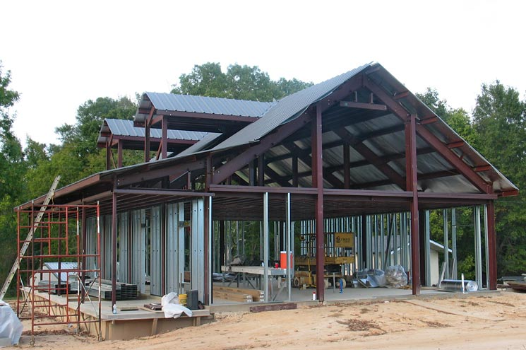 10 reasons why the kodiak steel homes is better than its for How to build a metal building home