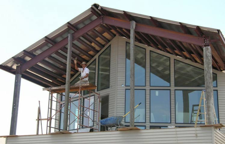10 reasons why the kodiak steel homes is better than its for Steel frame home designs