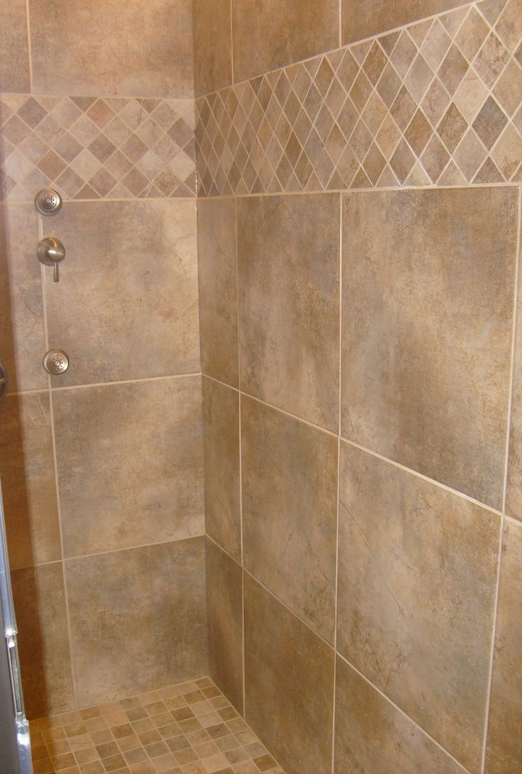 15 luxury bathroom tile patterns ideas diy design decor for Tile shower floor ideas