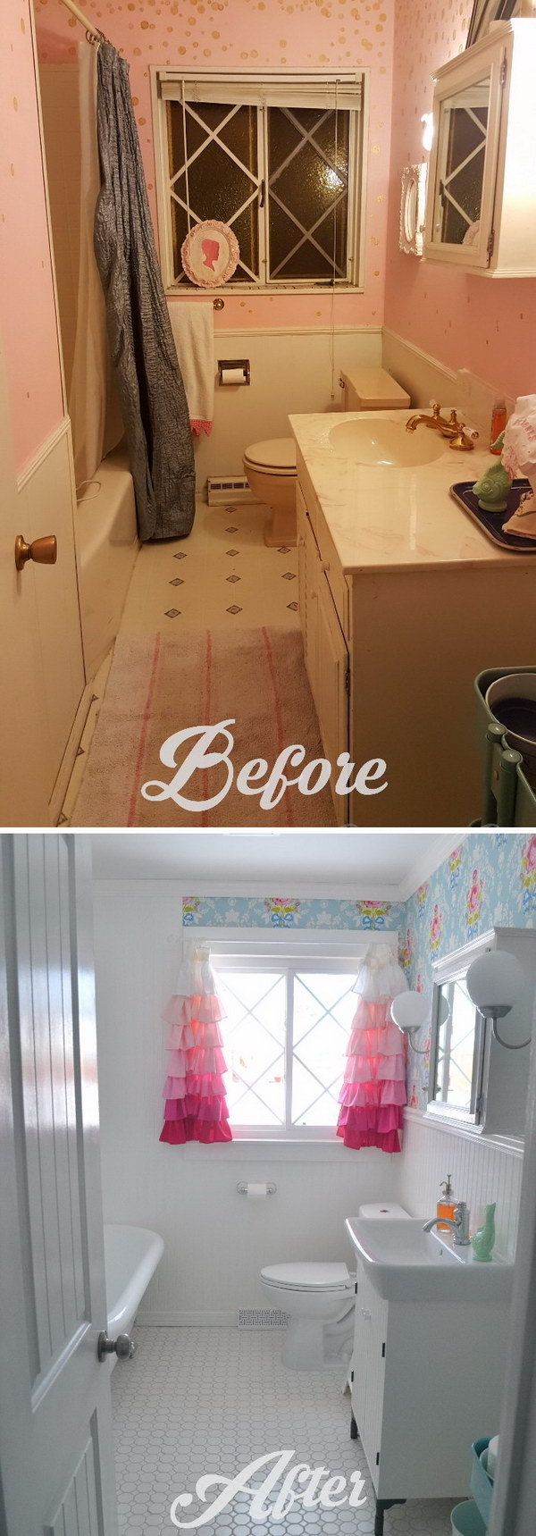 Gorgeous Small Bathroom Remodel Before After